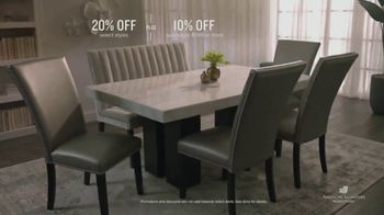 American Signature Furniture Presidents' Day Sale TV Spot, 'Great Moments: 20 Percent Off' - Thumbnail 7