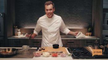 Monogram Appliances TV Spot, 'Bravo: Kentucky Flavor with Chef Brian Malarkey' - 28 commercial airings
