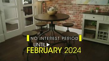 Rooms to Go Presidents Day Sale TV Spot, 'No Interest Until February 2024' - Thumbnail 6