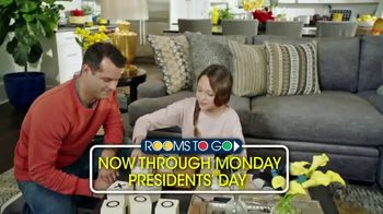 Rooms to Go Presidents Day Sale TV Spot, 'No Interest Until February 2024' - Thumbnail 8