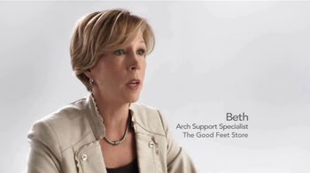 The Good Feet Store TV Spot, 'Beth's Arch Support Story: Finally Plantar Fasciitis Relief'