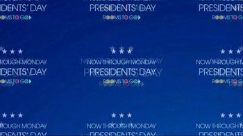Rooms to Go TV Spot, 'Presidents Day Savings' - Thumbnail 1