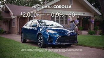 2019 Toyota Corolla TV Spot, 'The List' [T2] - Thumbnail 9