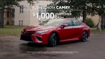2019 Toyota Camry TV Spot, 'That's My Ride' [T2] - Thumbnail 9