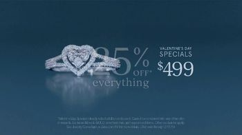 Zales The Valentine's Day Sale TV Spot, 'Ask For Her Hand: 25 Percent Off Everything' - Thumbnail 6