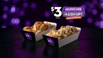 Jack in the Box $3 Mac & Cheese Munchie Mash-Ups TV Spot, 'Late-Night Deal Talk: Finger Food' - Thumbnail 2