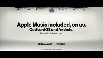 Verizon TV Spot, 'RGR Awards: Apple Music' - Thumbnail 10