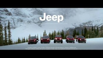 Jeep Presidents Day Sales Event TV Spot, 'Let It Fall' Song by Carrollton [T2] - Thumbnail 8