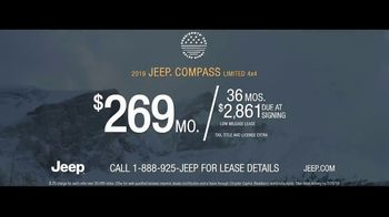 Jeep Presidents Day Sales Event TV Spot, 'Let It Fall' Song by Carrollton [T2] - Thumbnail 9
