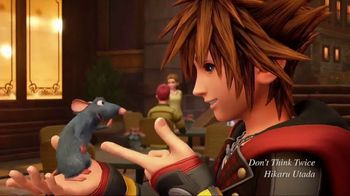 Kingdom Hearts III TV Spot, 'Launch Commercial' Song by Hikaru Utada