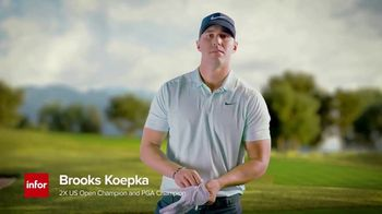Infor TV Spot, 'Get that vibe with Brooks Koepka' Song by The TVC - Thumbnail 8