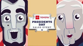 Toyota Presidents Day Sales Event TV Spot, 'Don't Miss These Deals' [T2] - Thumbnail 1