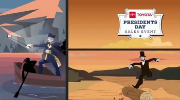 Toyota Presidents Day Sales Event TV Spot, 'Don't Miss These Deals' [T2] - Thumbnail 4