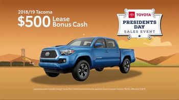Toyota Presidents Day Sales Event TV Spot, 'Don't Miss These Deals' [T2] - Thumbnail 5