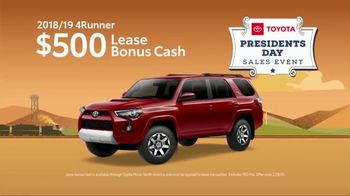 Toyota Presidents Day Sales Event TV Spot, 'Don't Miss These Deals' [T2] - Thumbnail 6