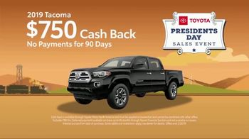 Toyota Presidents Day Sales Event TV Spot, 'Don't Miss These Deals' [T2] - Thumbnail 7