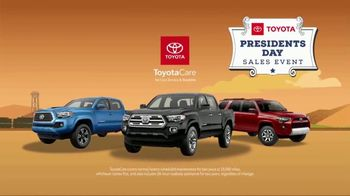 Toyota Presidents Day Sales Event TV Spot, 'Don't Miss These Deals' [T2] - Thumbnail 8