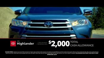 Toyota TV Spot, 'Time to Go: Highlander & Sienna' [T2] - Thumbnail 4