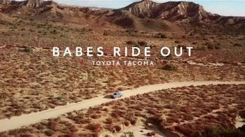Toyotally Sales Event TV Spot, 'Babes Ride Out' [T2] - Thumbnail 1