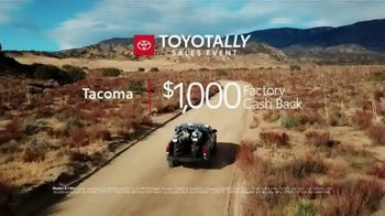 Toyotally Sales Event TV Spot, 'Babes Ride Out' [T2] - Thumbnail 8