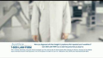 1-800-LAW-FIRM TV Spot, 'Non-Hodgkin's Lymphoma: Roundup' - Thumbnail 1