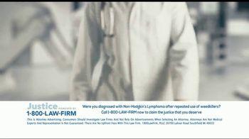 1-800-LAW-FIRM TV Spot, 'Non-Hodgkin's Lymphoma: Roundup' - Thumbnail 2