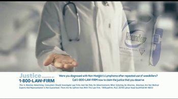 1-800-LAW-FIRM TV Spot, 'Non-Hodgkin's Lymphoma: Roundup' - Thumbnail 3