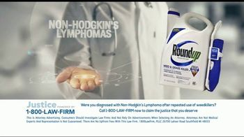 1-800-LAW-FIRM TV Spot, 'Non-Hodgkin's Lymphoma: Roundup' - Thumbnail 8