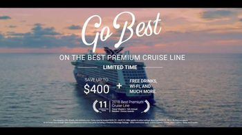 Celebrity Cruises TV Spot, 'Best Rated Cruise Line' - Thumbnail 10