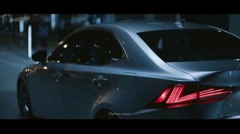 2019 Lexus IS 300 TV Spot, 'Thrill of the Moment' [T2] - Thumbnail 1