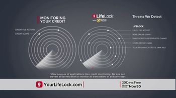 LifeLock With Norton TV Spot, 'DSP1 V1E_Tom 30D HB' - Thumbnail 6