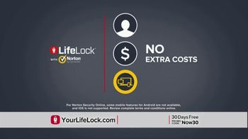 LifeLock With Norton TV Spot, 'DSP1 V1E_Tom 30D HB' - Thumbnail 9
