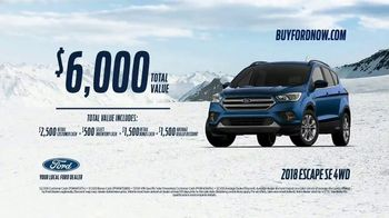 2018 Ford Escape TV Spot, 'The Best Way to Explore' [T2] - Thumbnail 10