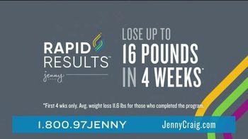 Jenny Craig Rapid Results TV Spot, 'Simple: 85 Percent Off'