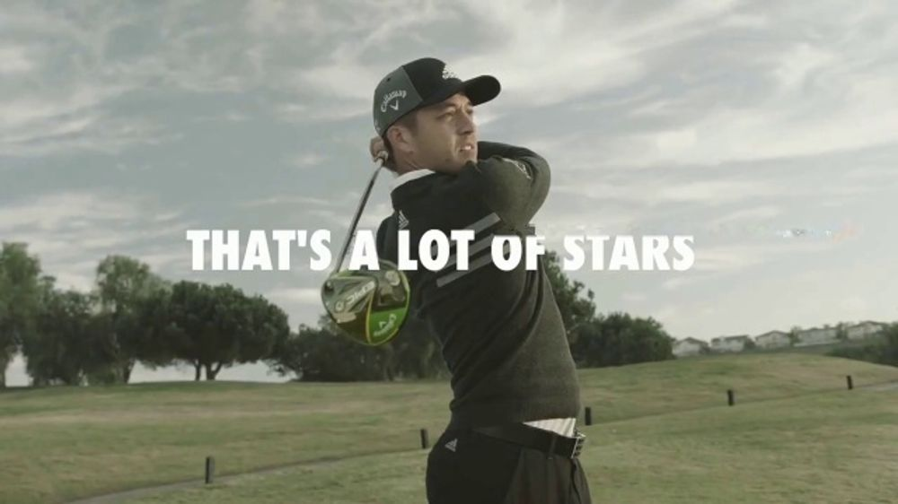 Callaway TV Commercial, 'A Lot of Stars'
