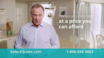 Select Quote TV Spot, 'The Security at a Price You Can Afford'