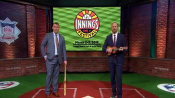 MLB Network TV Spot, '2019 Innings Festival' - 141 commercial airings