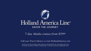 Holland America Line TV Spot, 'Alaska' - Thumbnail 10