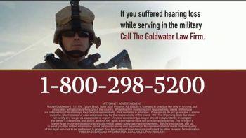Goldwater Law Firm TV Spot, 'Military Earplugs' - Thumbnail 4