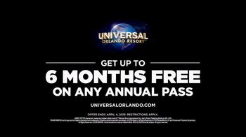 Universal Orlando Resort TV Spot, 'We Belong Here: Six Months Free' - Thumbnail 10
