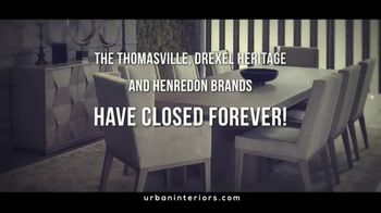 Thomasville Presidents Day Pre-Sale TV Spot, 'Closed Forever'
