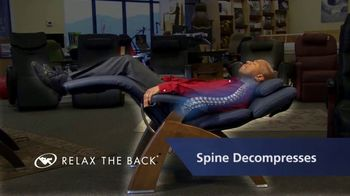 Relax the Back TV Spot, 'Human Touch Perfect Chairs'