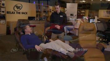 Relax the Back TV Spot, 'Human Touch Perfect Chairs' - Thumbnail 5