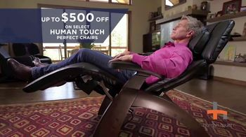 Relax the Back TV Spot, 'Human Touch Perfect Chairs' - Thumbnail 8