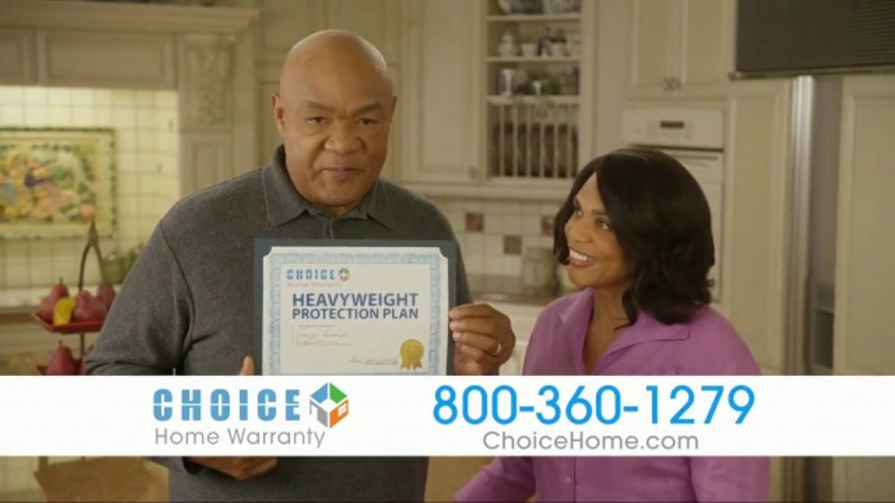 Choice Home Warranty TV Commercial, 'Sucker Punch' Featuring George Foreman