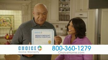 Choice Home Warranty TV Spot, 'Sucker Punch' Featuring George Foreman