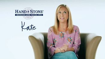 Hand and Stone Valentine's Day Spa Package TV Spot, 'Customer Testimonial: Kate' - Thumbnail 9