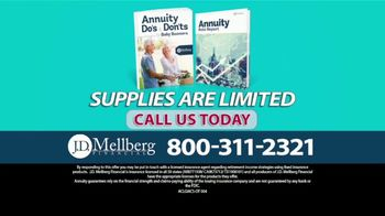J.D. Mellberg TV Spot, 'Annuity Do's & Dont's' - Thumbnail 9