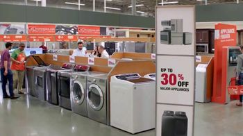 The Home Depot TV Spot, 'More: Samsung Activewash Laundry Pair: 30 Percent' - Thumbnail 5