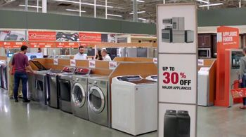 The Home Depot TV Spot, 'More: Samsung Activewash Laundry Pair: 30 Percent' - Thumbnail 6